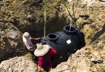 Assainissement relevage eau station fosse septique 6
